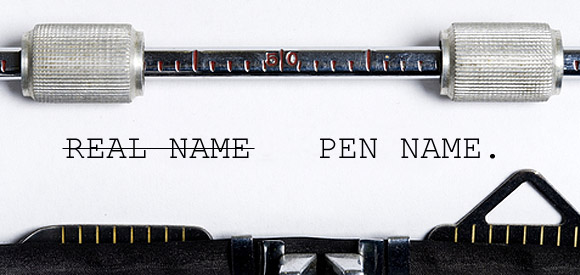writing under a pen name