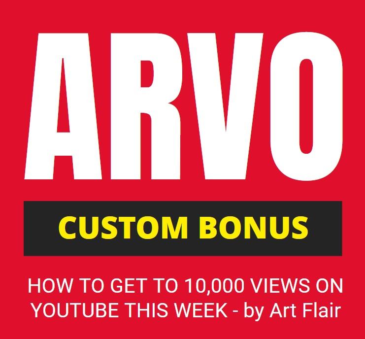 Arvo Review Bonus Mark Bishop