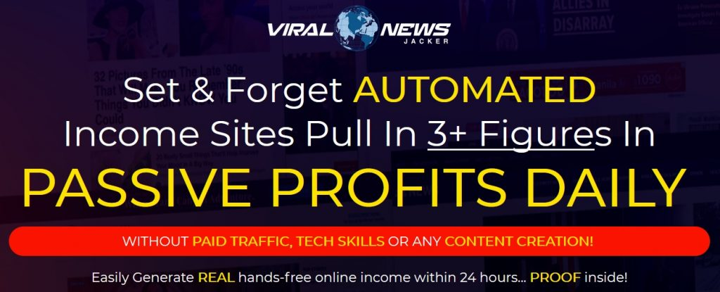 Viral News Jacker Review and Bonus