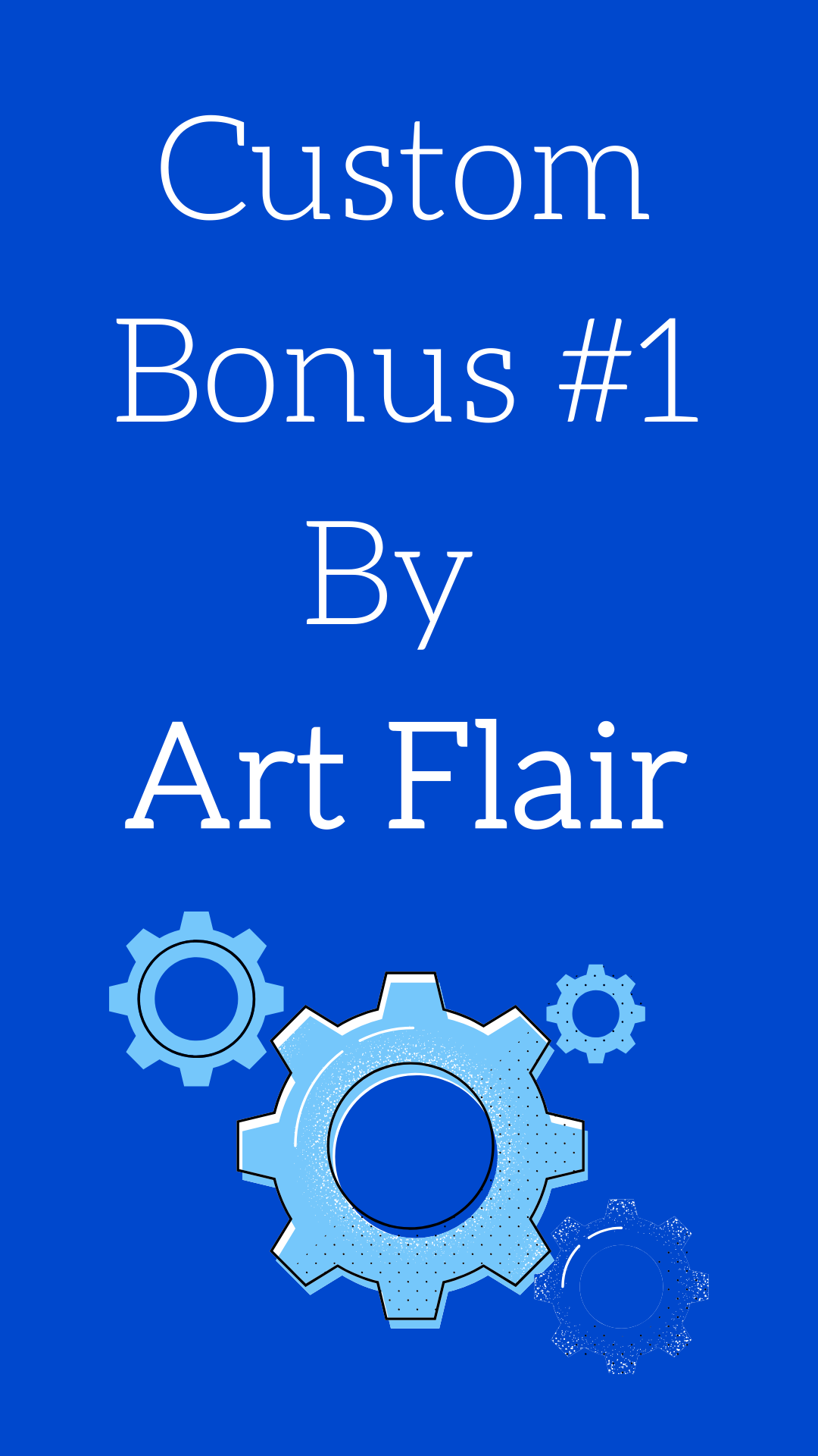Custom Bonus for LeadSell by Art Flair