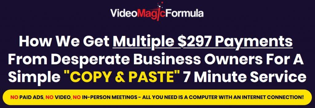 Video Magic Formula Review and Bonus
