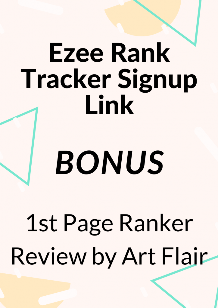 1st Page Ranker Review by Art Flair