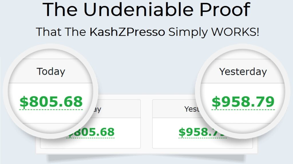 KashZpresso Review and Proof