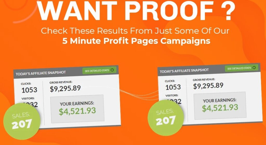 5 Minute Profit Pages Review Proof