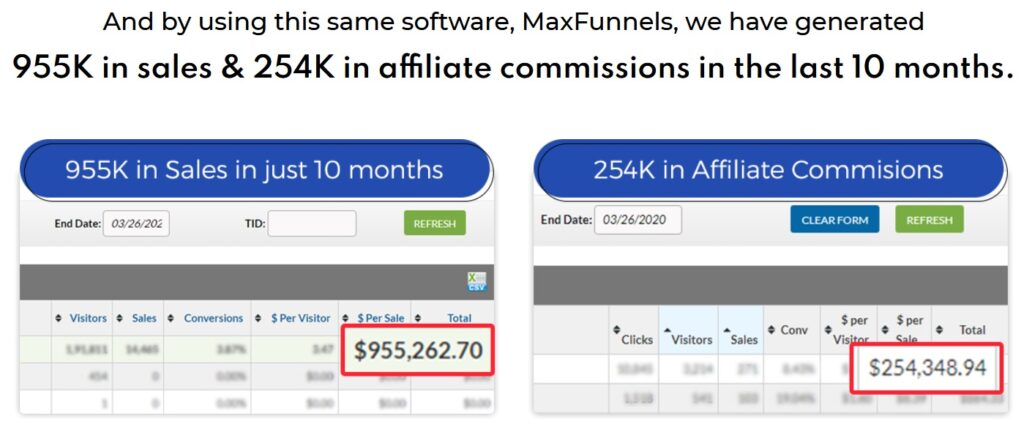 MaxFunnels Reloaded Review and Proof