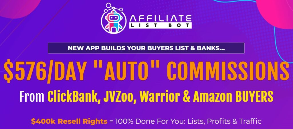 Affiliate List Bot Review