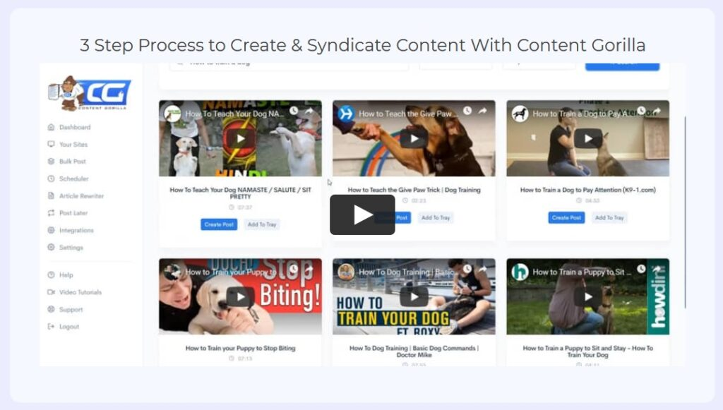 Content Gorilla 2 Review and Demo