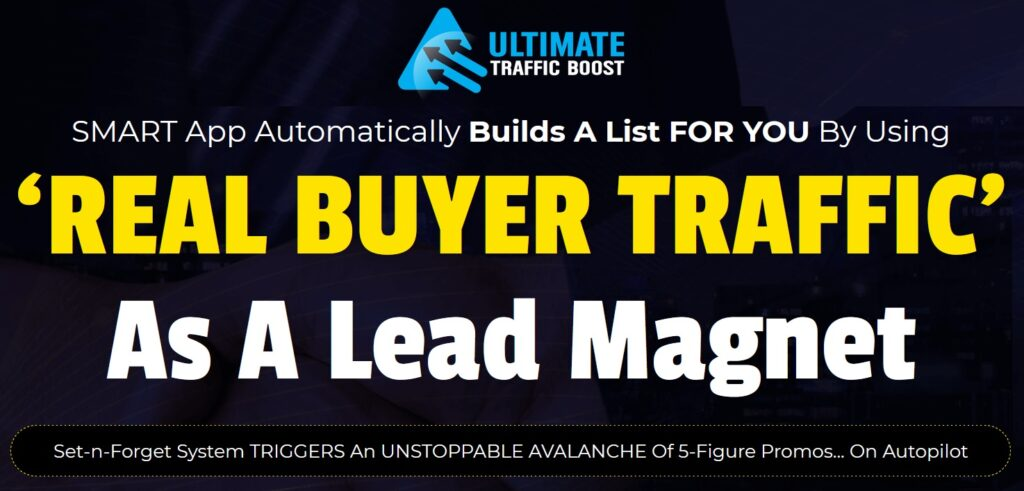 Ultimate Traffic Boost Review