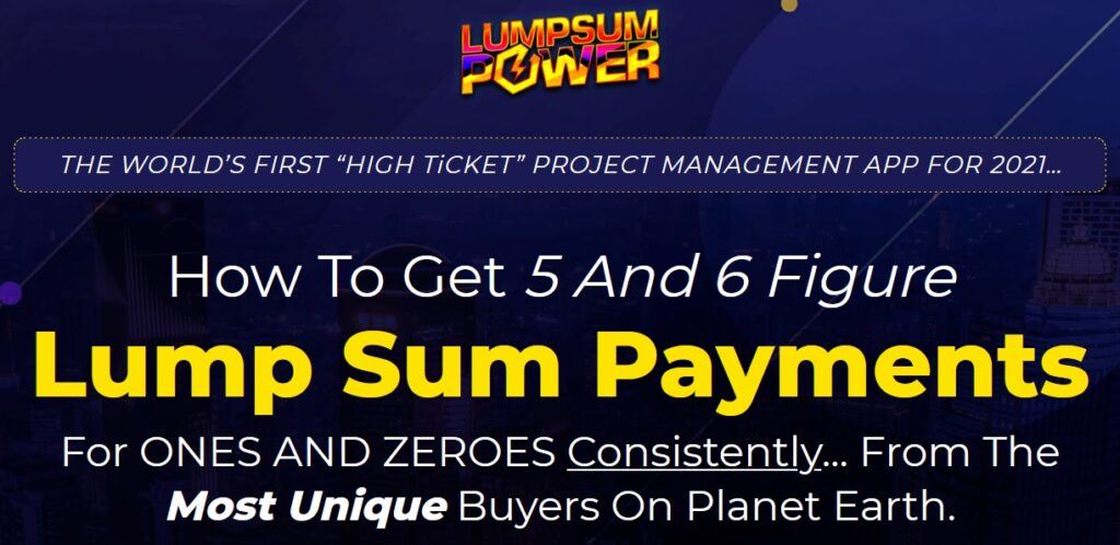 LUMPSUM POWER Review